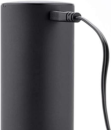 XIXIDIAN Abre de Vino eléctrico, Recargable USB Acero Inoxidable Abres de Botella de sacacorchos eléctricos automáticos con Cortador de lámina One Button Home Kitchen Botella de Vino Abotrotel
