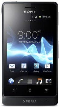 bolsa del cinturón / funda para Sony Xperia go, negro + Auriculares | caja del teléfono cubierta protectora bolso - K-S-Trade (TM)