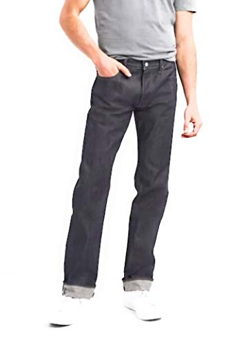 GAP Mens Premium Selvedge Jeans in Straight Fit, RAW ()