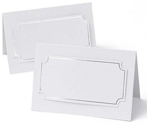 (Silver Foil Place Cards (3))
