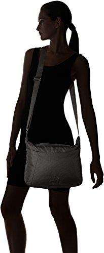 Umhängetasche Valparaiso Bag Wolfskin Taille noir Sac Jack à Femme Bandoulière Unique qT54wEFxH
