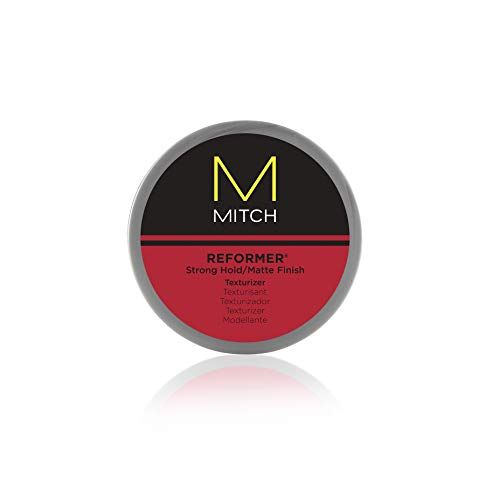 Mitch Reformer Texturizing Hair Putty, Strong Hold, Matte Finish
