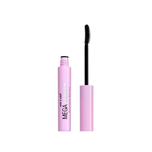 wet n wild Mega Length Waterproof Mascara, Very Black, 0.21 Ounce