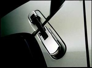 Hummer H2 Chrome Hood Latch Covers (4 Piece Set) Fits 2003, 2004, 2005, 2006, 2007, 2008, 2009 H2 or ()