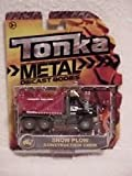 Tonka Metal Diecast Bodies Construction Crew - Snow Plow