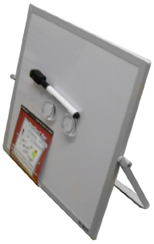 Dooley Aluminum Framed Double Sided Magnetic Dry Erase Board with (Aluminum Framed Markerboard)