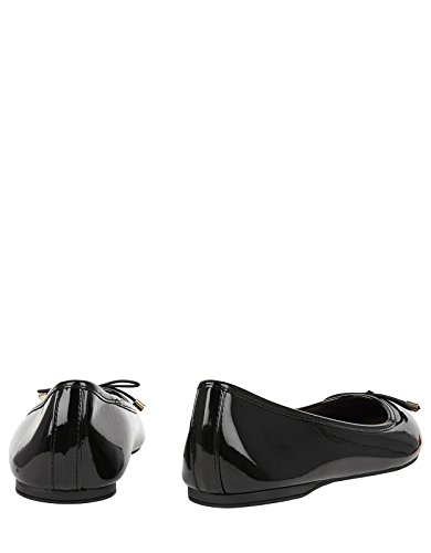 Accessorize Coraline Basic Patent Ballerina Flats - Womens Black
