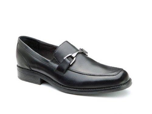 Bostonian Men's Kohrman Mason Black Fashion Loafers 9.5 W