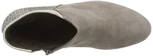 Gabor Calista - Botas de cuero mujer gris - Grau (fango (Micro) 39)