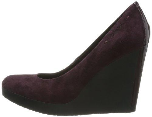 Chaussures Burgundy Klein Madge Calvin De Rich Femme Ville fq6n4R