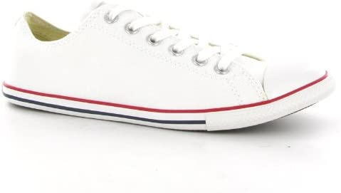 Star Slim Ox White Canvas Mens Trainers