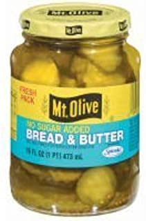product image for Mt Olive Bread & Butter Chips 16oz 3pack (no sugar added) by Mt. Olive