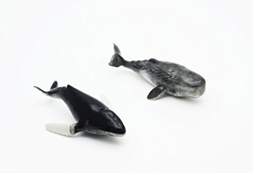 Wildlife Whale Lampwork Animal Figuarts (Canvas Pot Holders compare prices)