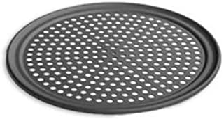 product image for LloydPans 10 Inch Perforated Pizza Tray,Case of 12, Pre-Seasoned PSTK, Anodized Aluminum,