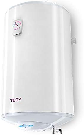 TESY BiLight - Termo de Agua Eléctrico Vertical de 30 Litros con Tecnología Patentada de Eficiencia Energética.