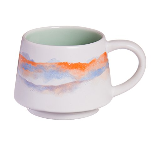 Cypress Home Sand Dunes Desert Hand-Crafted Artisans Series Ceramic Mug, 12 ounces in Giftable Box