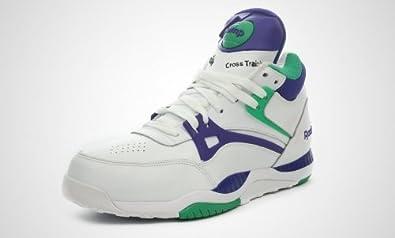 Reebok Pump Axt (weißgrün lila): : Schuhe