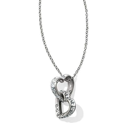 - Brighton Spectrum Hearts Clear Long Necklace