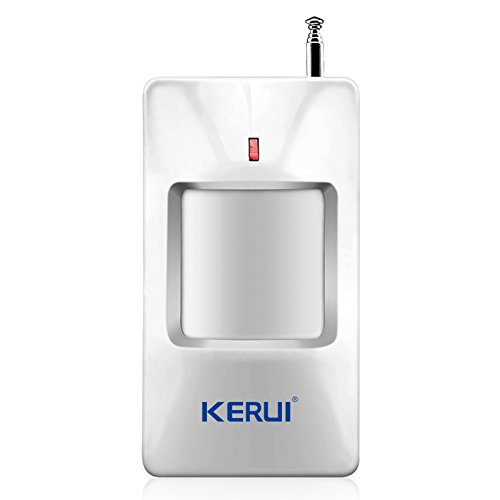 (KERUI 433MHz Home Wireless PIR Infrared Motion Sensor Detector for Alarm System)