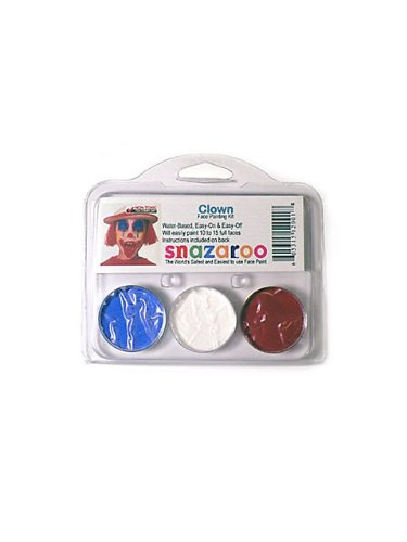Snazaroo SZTHEMECLOWN Clown Theme Face Paint Kit ()