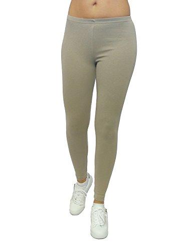 Sys Beige Leggings Donna Pantaloni Unita Tinta UnXU1rq