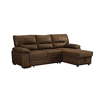 Amazon Com Sectional Sofa With Reversible Storage Chaise 2 Piece
