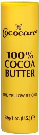 Cocoa Butter Stick (Cococare 100% Cocoa Butter Stick, 1 oz, Pack of 4)