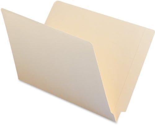 B00006IF3Y Smead End Tab File Folder, Shelf-Master Reinforced Straight-Cut Tab, Legal Size, Manila, 100 per Box (27110) 31-fHU3KQfL