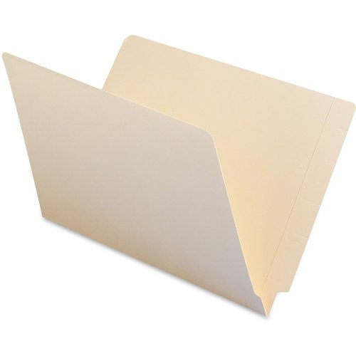 Smead End Tab File Folder, Shelf-Master Reinforced Straight-Cut Tab, Legal Size, Manila, 100 per Box -