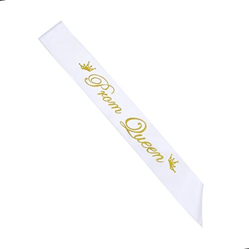 Prom Queen Satin Sash For Bachelor Party Club