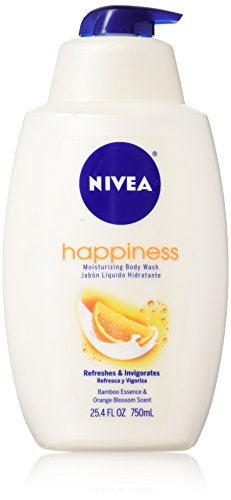 NIVEA Touch of Happiness Moisturizing Body Wash, 25.4 fl oz