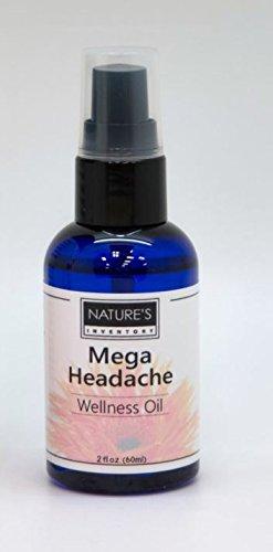 Nature's Inventory - Wellness Oil 100% Organic Mega Headache - 2 - Oil Wellness Soothe