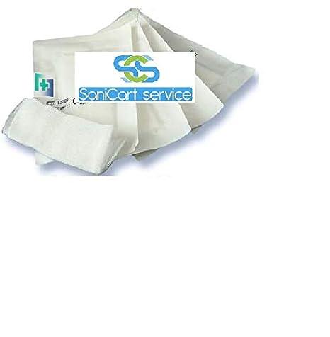 120x Gasa de algodón estéril hidrofila que mide 36x40 120 piezas ...