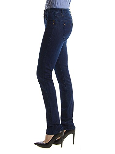 cigarette normale taille Carrera denim femme style Bleu normale Lavage Fonc Jeans 121 style pour tissu 752C0970A extensible taille Jeans SArO7wAqY