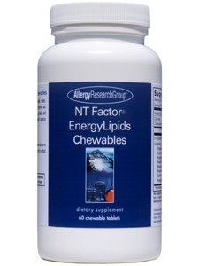 - Allergy Research Group Nt Factor Energylipids Chewables 60 Chwbls