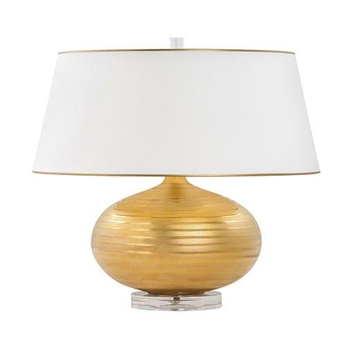 Bradburn Gallery Solar Eclipse Gold One-Light Table Lamp - Bradburn Lamps