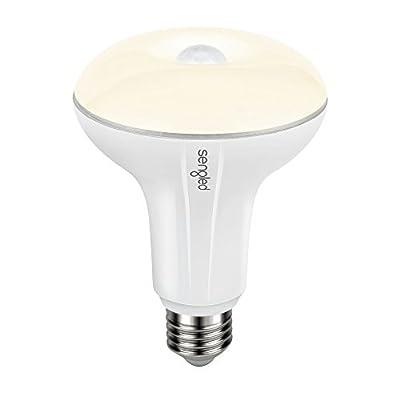 Sengled Smartsense LED Light Bulb with Motion Sensor, BR30 Smart LED Night Light Soft White 2700K, E26 Base 65W Equivalent