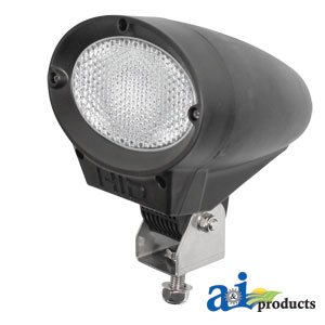 A&I - Work Lamp; HID, Oval Lens, Trapezoid Light Pattern, 35W Xenon. PART NO: ...