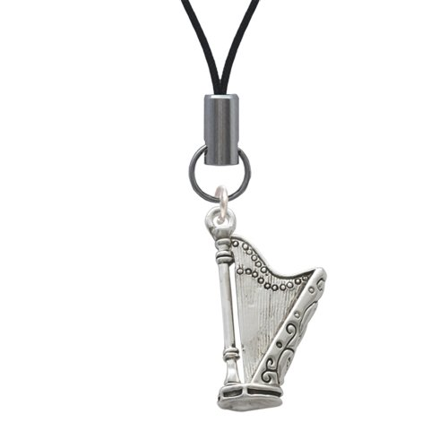 Harp Cell Phone Charm [Wireless Phone Accessory]