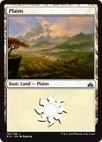 Plains - Foil - Rivals of Ixalan