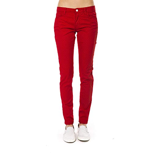 red Rosso Pantalon Made Italy Femme Collection Trussardi In Haq06