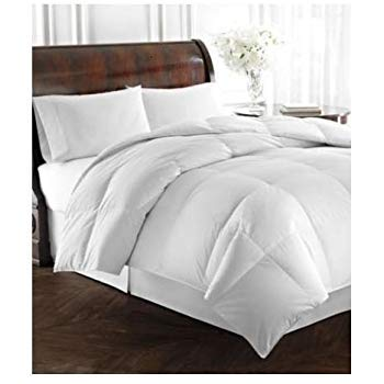 RALPH LAUREN Bronze Comfort White Down Alternative Comforter FULL/QUEEN (Ralph Lauren Bedding Queen)