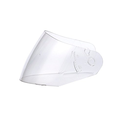 Triangle Clear Replacement Visor Face Shield for Full Face Dual Visor Motorcycle Helmet Model #TFF17 (One - Motorcycle Shield Helmet Replacement