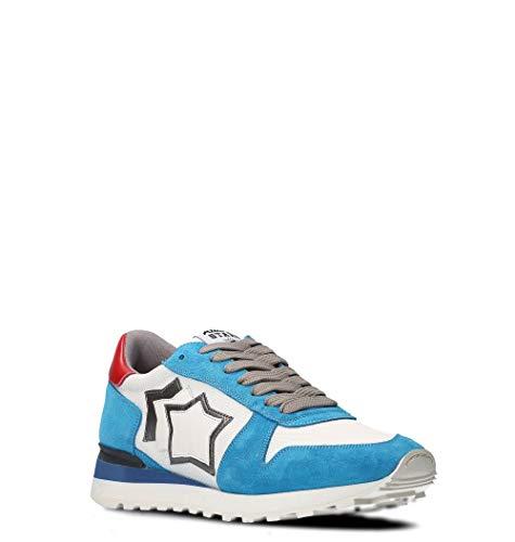 Atlantic Uomo Azzurro Sneakers Argobanylbbny Stars Pelle wf1pqwZx