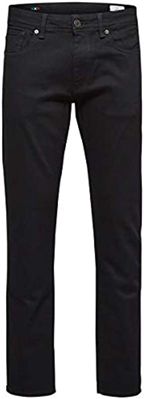 SELECTED HOMME 1001 dżinsy męskie Straight Fit: Odzież