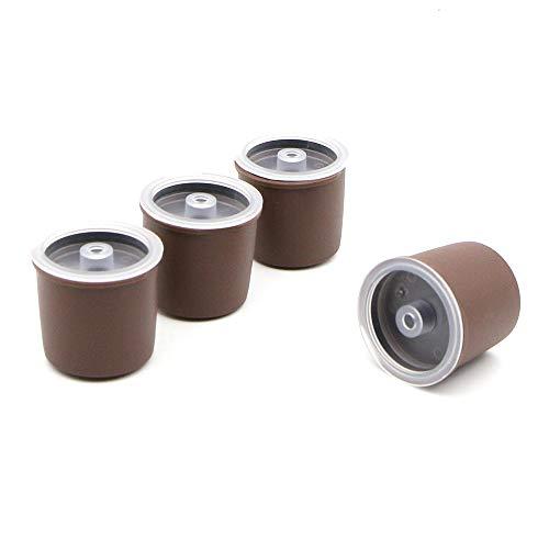 Llenado de filtro de café reutilizable de la cápsula rellenable para Illy Coffeemaker (4)