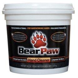 Bear Paw Hand Cleaner, 40oz Tub -