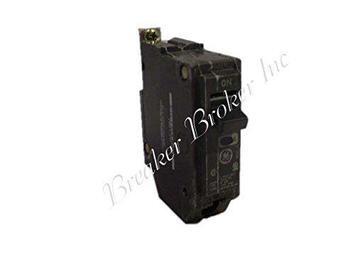 Tools & Harware General Electric THQB1120 1 Pole, 20 Amp, 120V Bolt-on Circuit Breaker, Model: - Ge 20 Amp 1 Pole