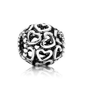 Pandora Open Your Heart Sterling Silver Charm No  790964