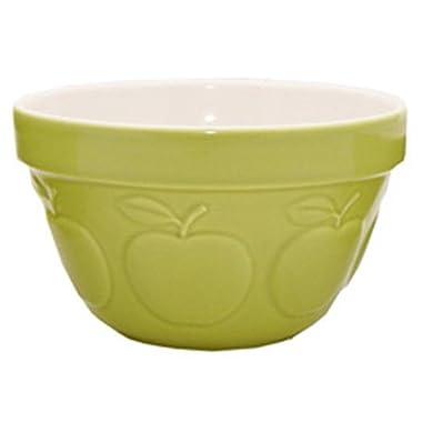 Mason Cash Zest Steam Bowl (British Term - Pudding Basin), Apple, 0.95-Quart
